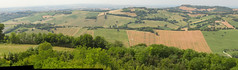 Offagna, Marche, Italy - Marche Hills 5 - stitch by Gianni Del Bufalo  CC BY 4.0 (bygdb - Gianni Del Bufalo (CC BY)) Tags: marcheregion lemarcheitaly marken destinazionemarche viviamolemarche regionedellemarche countryside italiancountryside country campagnamarchigiana collinemarchigiane colline hills field campi rural green naturalmente nature