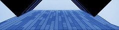 urban abstraction (Darek Drapala) Tags: urban industrial architecture art buildings building lumix light panasonic poland polska panasonicg5 warsaw warszawa blue