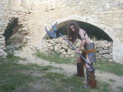 Shooting Skyrim - Ruines d'Allan -2017-06-03- P2090610 (styeb) Tags: shoot shooting skyrim allan ruine village drome montelimar 2017 juin 06 cosplay