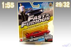 1-55_Mattel_Fast_Furious_29of32_Dodge_Charger_Daytona (Sigi D) Tags: 155 mattel diecast fast furious fastfurious sigid moviecar dodge charger daytona dominic toretto furious6