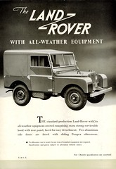 1950 Land-Rover with All-Weather Equipment (aldenjewell) Tags: 1950 land rover all weather equipment brochure