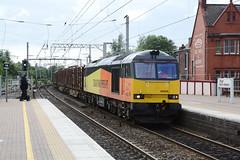 "Colas Rail Freight Class 60, 60026 (37190 ""Dalzell"") Tags: colasrail orangeyellowblack brush type5 doughnut tug class60 60026 northwestern wigan"