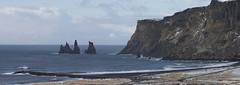 Iceland (richard.mcmanus.) Tags: iceland vik arctic reynisdranger stacks landscape mcmanus sea ocean beach gettyimages
