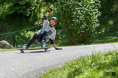 Mathieu slide session St Pastous (Trialxav) Tags: longboard longboarding longskate slide session pyrenees abec11