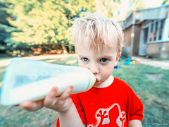 Drink up!! (C.A.Photogenics) Tags: color pastel portrait sony a7rii hair child harrison wide angle 14mm cute boy exposure contrast clarity
