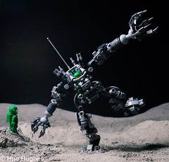 IMG_5433 (Hue Hughes) Tags: lego space spacemission moon moonlanding lunar astronaut unikitty benny superman alien mech spaceman rover lunarrover craters moondust toys macro fun cute apollo