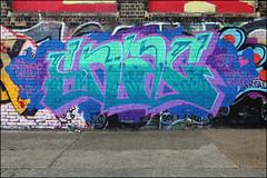 Snag (Alex Ellison) Tags: snag dfn eastlondon hackneywick urban graffiti graff boobs