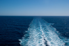 ocean cruise (Lennart Lassen) Tags: sea ship ocean cruise blue white sky water transport transportation travel clear boat europe vacation ferry vessel wave sunny sail tourism touristic outdoor kielwater line surf horizont seascape horizon cruiseship smooth waves outboard scenic scene speed splashing spraying sailing passenger relaxation summer