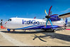 "LBG.2017 # Paris AirShow ""First ATR for IndiGo"" awp (CHR / AeroWorldpictures Team) Tags: indigo 6e igo india atr atr42 reg fwwez history aircraft first flight test built site toulouse tls france display airshow paris 2017 pas2017 lebourget lbg planespotting nikon d300s lenses fisheyes lightroom raw awp lfpb"