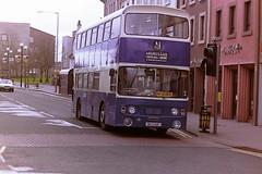 A1 SERVICE NCS16P (bobbyblack51) Tags: a1 service leyland fleetline alexander al ncs16p irvine 1995