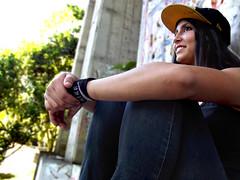 Valentina Calderon (dan95_Zambrano) Tags: mujer woman streetart skateboards skategirl verde vida aventura venezuela latina talento sonrisa