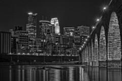 Minneapolis From Down Under (mtuswan) Tags: minneapolis downtown stonearchbridge skyline mississippiriver