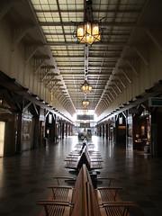Waiting area, early morning, Centralstation, Gothenburg, Sweden (Paul McClure DC) Tags: gothenburg göteborg sweden sverige july2015 railroad railway historic architecture
