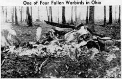 Lansing_State_Journal_Fri__Mar_20__1942_ (SixbyFire) Tags: armel kennedy eugene anderson earl houser edward saunders lima ohio p39 p39f aviation archaeology wreckchasing army air corps airacobra bell aircraft airplane crash accident survey allencounty 1942