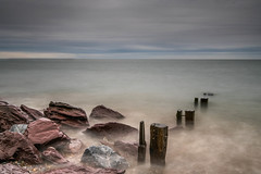 Youghal strand 25-06-2017 (John Holmes (DAJH51)) Tags: youghal beach groynes longexposure morning old rocks sandsea stones water wood youghalstrand