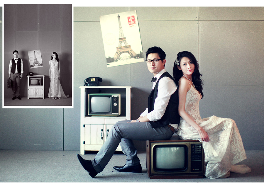 裸紗 韓風 婚紗攝影