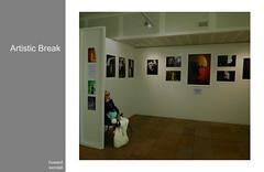 Artistic Break by howard kendall (howardkendall42) Tags: howardkendall42 artisticbreak waiting rest pause brightonlibrary