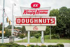 Krispy Kreme (Thomas Hawk) Tags: america atlanta georgia krispykreme usa unitedstates unitedstatesofamerica donut donuts doughnuts neon fav10 fav25 fav50