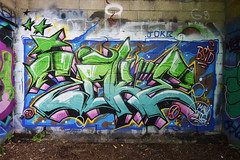 Joke (HBA_JIJO) Tags: streetart urban graffiti vitry vitrysurseine art france hbajijo wall mur painting letters aerosol peinture lettrage jok lettres lettring writer bstd paris94 spray bombing urbain urbaine culture