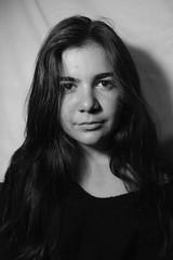 Portraits (alexandriacasella) Tags: messyhair shadows wavyhair womanportrait portrait blackandwhite