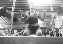 Day 360: Squat 5 times your Age (Anomalily) Tags: weight lifting 365 weights squats gym 24hourfitness 365project myself selfportrait 150lbs