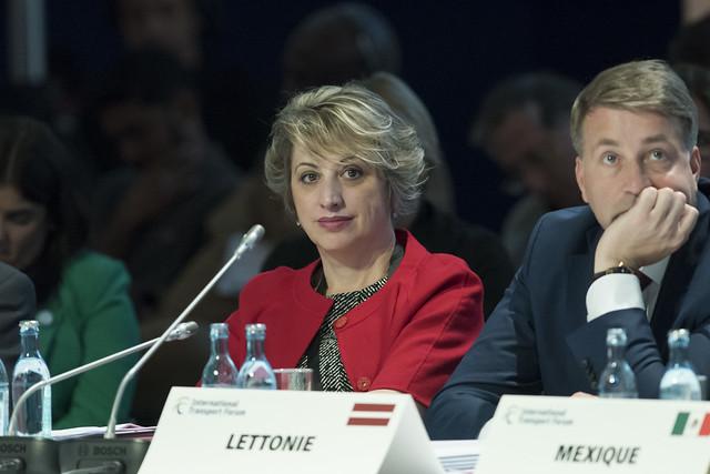 Argita Totozani attending the open ministerial