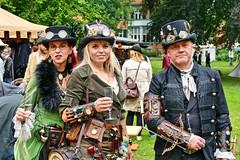Steampunk #3 (whistlah50) Tags: steampunk steam punk victorian era jules verne outdoor fantasy fashion cloth topper panasonic fz1000 dmcfz1000 lumix mechanical