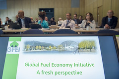 Commencement of the Side Event: Global Fuel Economy Iniative: A fresh perspective