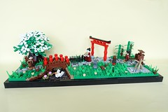 Japanese Zen Garden - ABS Builder Challenge Part 6 (-Balbo-) Tags: lego japanese moc balbo creation bauwerk abs builder challange zen garden