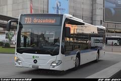 60 (northwest85) Tags: verkehrsbetriebe zürich vbz zh 561460 60 mercedes benz citaro 733 graswinkel flughafenstrasse kloten switzerland bus zh561460