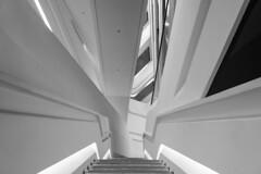 Jockey Club Innovation Tower (Greg Rohan) Tags: hongkong university building abstract white designinstitute innovationtower jockeyclub zahahadid blackwhite blackandwhite bw monochrome architecture d7200 2017