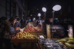Fruits (karinavera) Tags: travel sonya7r2 view city night urban street fruits streetphotography newyork people market