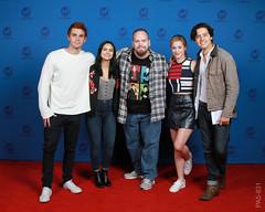 (Riverdale) KJ Apa, Camila Mendes, Lili Reinhart & Cole Sprause - 6/3/2017 (Thebokchoyman) Tags: riverdale archie betty veronica jughead