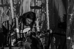 N A Q live while the guitar gently weeps (genelabo) Tags: mixed live sessions naq ippio payo genelabo import export kreativquartier underground concert visuals vj guitar münchen munich iipio nobody answers questions audio visuell klang sound coge viuals konzert music sw bw monochrome blackwhite schwarzweiss