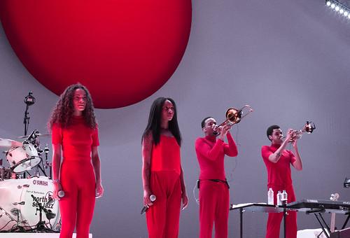 Solange's band