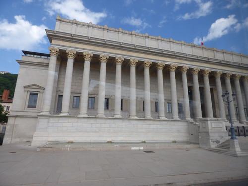 Palais de justice historique de Lyon - Quai Romain Rolland, Lyon