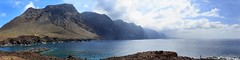 Los Gigantes, seen from Faro de Teno - Tenerife, Spain (dejott1708) Tags: los gigantes tenerife spain faro de teno sea atlantic ocean sky clouds panorama coast landscape