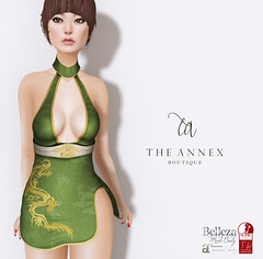 TA MEI CHEONGSAM VENDOR (The Annex Store) Tags: mesh secondlife theannex belleza slink maitreya asian chinese oriental dragon roleplay rp fantasy historical