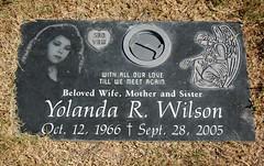 Yolanda (Midnight Believer) Tags: holyhopecatholiccemetery headstone tombstone gravestone graveyard death finalrestingplace pimacounty americansouthwest burialground tucsonarizona