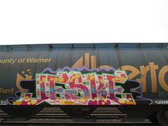 Jeske (Railroad Rat) Tags: northern ontario canada province nature graffiti life art freight moniker railroad railway hobo jungle hopping cp all colours beautiful
