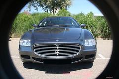 Maserati Quattroporte V face (macadam67) Tags: rotary club sélestat alsace tanzmatten promenade voituresanciennes voituressportives maserati quattroporte italian