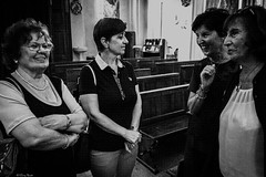 le quattro comari (Clay Bass) Tags: angelina domenica maria roccaforte battesimo bw church d500 family interior nikon