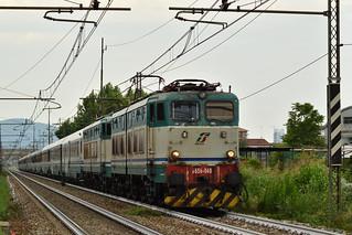 E656.040 + E656.515 EXP 14070 Torino Porta Nuova - Lourdes
