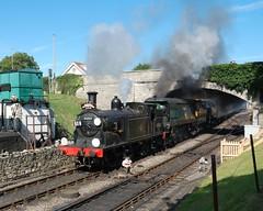 swan rwyswan triple_2swan triple (m.c.g.o) Tags: 30053 m7 swanage railway tank engine steam sunday 9 july 2017 manston battle britain class pacific 34070 br standard 4mt southern sunrise