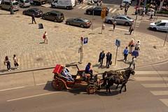 Vienna / Albertinaplatz (Pantchoa) Tags: vienne place albertina albertinaplatz calèche gens attelage photoderue streetshot nikon d7200 18140