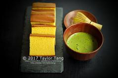 yamazaki cake (TailorTang) Tags: dessert yamazakicake honeycake japanesedessert matcha greentea food foodphotography stilllife 50mm 5014