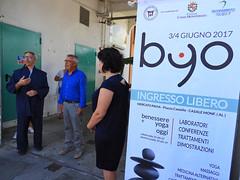Inaugurazione di BYO (associazione_miro) Tags: mandala coriandoli monferrato casalemonferrato byo liviobourbon shoryotarabini cleanupeuroope