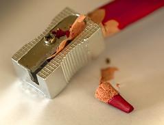 Broken (MikeBoyes) Tags: macromondays macro mondays broken pencil red tamron