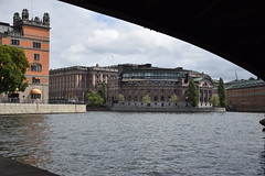 Stockholm (lucasual) Tags: stockholm architecture sky bridge river water