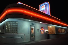 3-102 66 Diner (megatti) Tags: 66diner albuquerque desert diner newmexico nm restaurant sign
